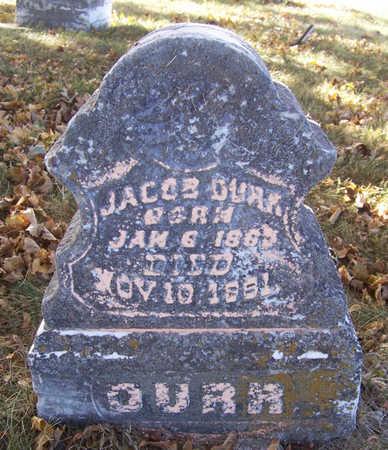 DURR, JACOB - Shelby County, Iowa   JACOB DURR