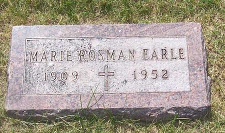 EARLE, MARIE - Shelby County, Iowa | MARIE EARLE