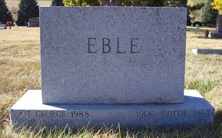 EBLE, GEORGE - Shelby County, Iowa | GEORGE EBLE