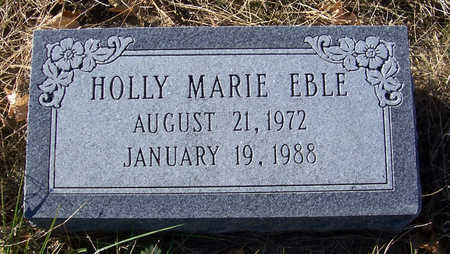 EBLE, HOLLY MARIE - Shelby County, Iowa | HOLLY MARIE EBLE