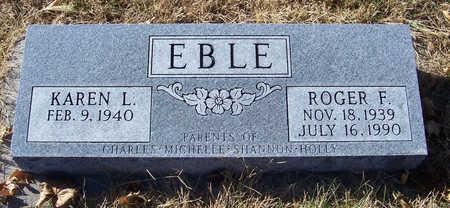 EBLE, KAREN L. - Shelby County, Iowa   KAREN L. EBLE