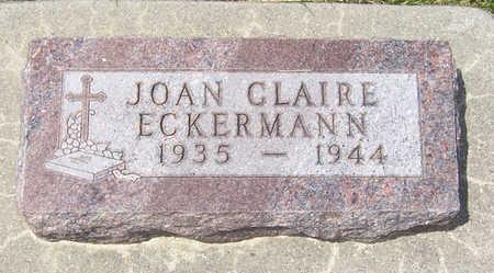 ECKERMANN, JOAN CLAIRE - Shelby County, Iowa | JOAN CLAIRE ECKERMANN