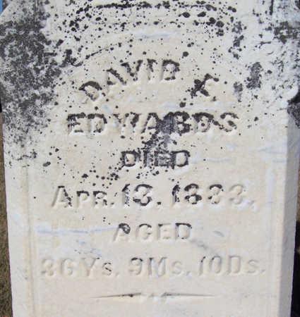 EDWARDS, DAVID E. (CLOSE-UP) - Shelby County, Iowa | DAVID E. (CLOSE-UP) EDWARDS