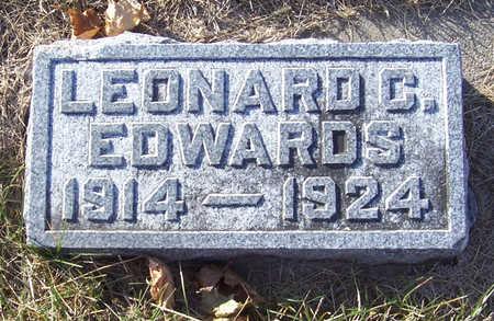 EDWARDS, LEONARD C. - Shelby County, Iowa   LEONARD C. EDWARDS