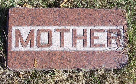 EDWARDS, MARY E. (MOTHER) - Shelby County, Iowa | MARY E. (MOTHER) EDWARDS