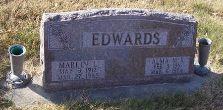 EDWARDS, ALMA M. K. - Shelby County, Iowa   ALMA M. K. EDWARDS
