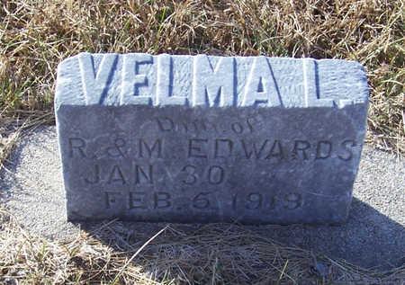 EDWARDS, VELMA L. - Shelby County, Iowa   VELMA L. EDWARDS