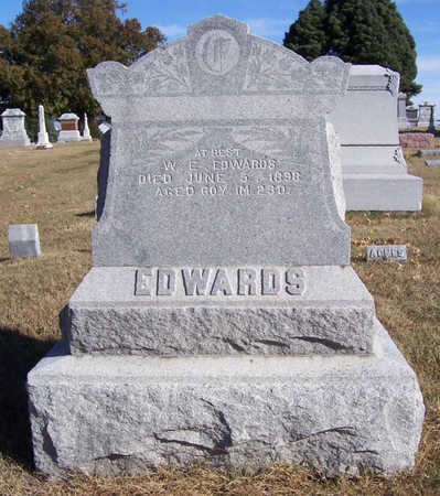 EDWARDS, WILLIAM E. - Shelby County, Iowa | WILLIAM E. EDWARDS