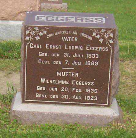 EGGERSS, CARL ERNST LUDWIG - Shelby County, Iowa   CARL ERNST LUDWIG EGGERSS