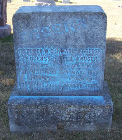 EGGERSS, MARIE - Shelby County, Iowa | MARIE EGGERSS