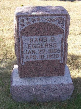 EGGERSS, HANS G. - Shelby County, Iowa   HANS G. EGGERSS