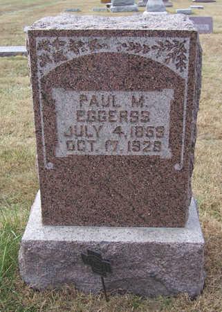 EGGERSS, PAUL M. - Shelby County, Iowa | PAUL M. EGGERSS