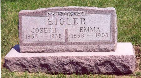 EIGLER, JOSEPH & EMMA - Shelby County, Iowa | JOSEPH & EMMA EIGLER