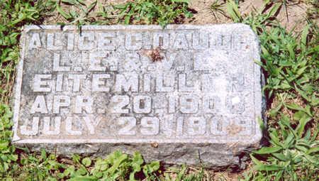 EITEMILLER, ALICE C. - Shelby County, Iowa | ALICE C. EITEMILLER