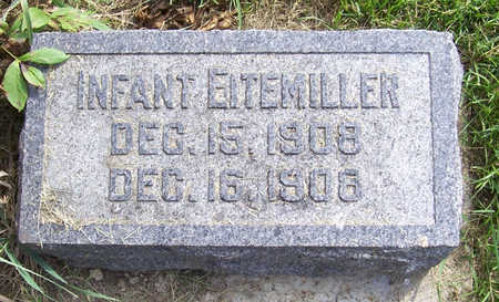 EITEMILLER, INFANT - Shelby County, Iowa | INFANT EITEMILLER