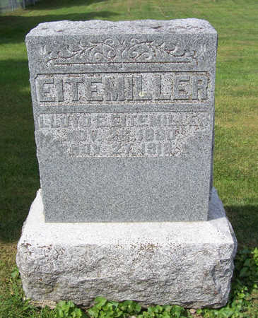 EITEMILLER, LLOYD E. - Shelby County, Iowa   LLOYD E. EITEMILLER