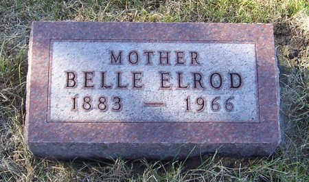 ELROD, BELLE (MOTHER) - Shelby County, Iowa | BELLE (MOTHER) ELROD
