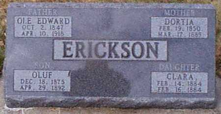 ERICKSEN, OLE E - Shelby County, Iowa | OLE E ERICKSEN
