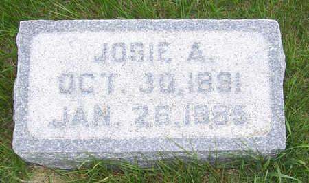 ERICKSON, JOSIE A. - Shelby County, Iowa   JOSIE A. ERICKSON