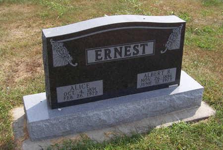 ERNEST, ALBERT R. - Shelby County, Iowa | ALBERT R. ERNEST