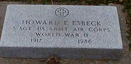 ESBECK, HOWARD E. (MILITARY) - Shelby County, Iowa | HOWARD E. (MILITARY) ESBECK