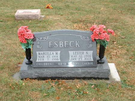 ESBECK, LESTER N - Shelby County, Iowa | LESTER N ESBECK