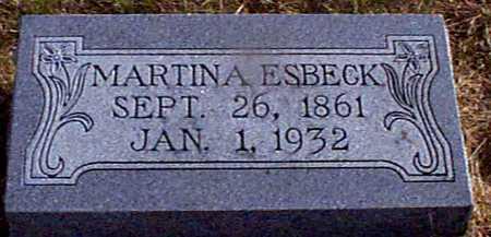 ESBECK, MARTINA - Shelby County, Iowa | MARTINA ESBECK