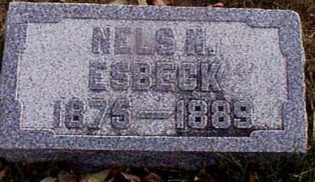 ESBECK, NELS N - Shelby County, Iowa | NELS N ESBECK