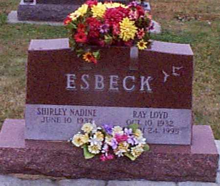 MORTENSEN ESBECK, SHIRLEY NADINE - Shelby County, Iowa | SHIRLEY NADINE MORTENSEN ESBECK