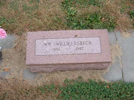 ESBECK, WILLIAM WILLIE - Shelby County, Iowa | WILLIAM WILLIE ESBECK