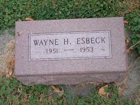 ESBECK, WAYNE H - Shelby County, Iowa | WAYNE H ESBECK