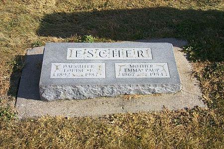 PAUP ESCHER, EMMA - Shelby County, Iowa | EMMA PAUP ESCHER