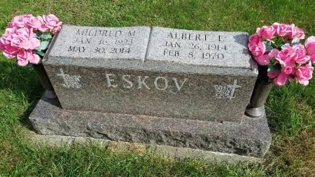ANDERSEN ESKOV, MILDRED M. - Shelby County, Iowa   MILDRED M. ANDERSEN ESKOV