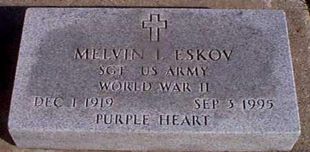 ESKOV, MELVIN L. - Shelby County, Iowa   MELVIN L. ESKOV