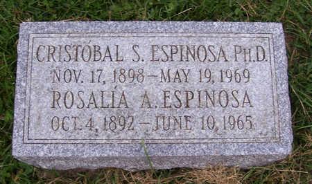 ESPINOSA, ROSALIA A. - Shelby County, Iowa | ROSALIA A. ESPINOSA