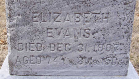 EVANS, ELIZABETH (CLOSE-UP) - Shelby County, Iowa | ELIZABETH (CLOSE-UP) EVANS