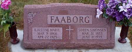 FAABORG, SOREN SIMONSEN - Shelby County, Iowa | SOREN SIMONSEN FAABORG