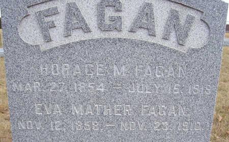 FAGAN, HORACE M. (CLOSE-UP) - Shelby County, Iowa | HORACE M. (CLOSE-UP) FAGAN