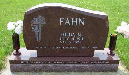 FAHN, HILDA M. - Shelby County, Iowa | HILDA M. FAHN