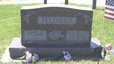 BLUM FELDMAN, ISABEL M. - Shelby County, Iowa | ISABEL M. BLUM FELDMAN