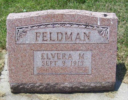 FELDMAN, ELVERA M. - Shelby County, Iowa | ELVERA M. FELDMAN