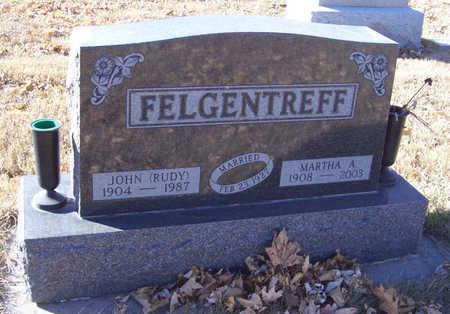 FELGENTREFF, JOHN (RUDY) - Shelby County, Iowa | JOHN (RUDY) FELGENTREFF