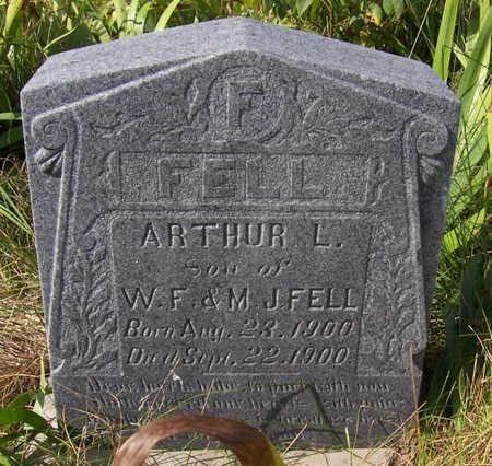 FELL, ARTHUR L. - Shelby County, Iowa | ARTHUR L. FELL