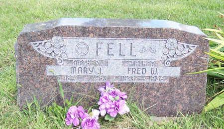 FELL, MARY J. - Shelby County, Iowa | MARY J. FELL