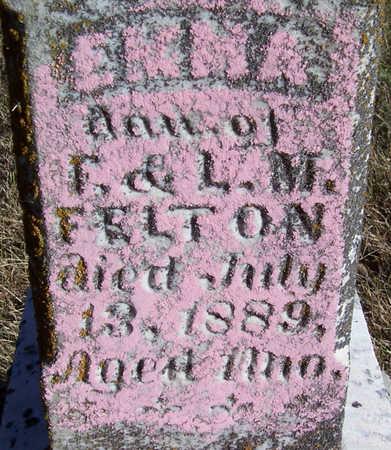FELTON, EMMA (CLOSE-UP) - Shelby County, Iowa   EMMA (CLOSE-UP) FELTON