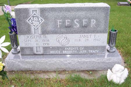 FESER, JOSEPH D. - Shelby County, Iowa | JOSEPH D. FESER