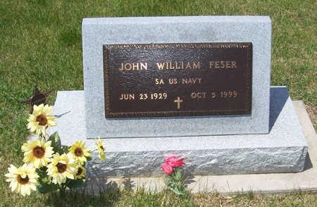 FESER, JOHN WILLIAM - Shelby County, Iowa | JOHN WILLIAM FESER