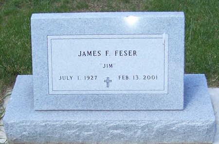 FESER, JAMES F. - Shelby County, Iowa   JAMES F. FESER