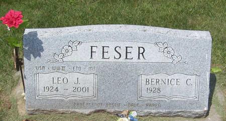 FESER, LEO J. - Shelby County, Iowa | LEO J. FESER