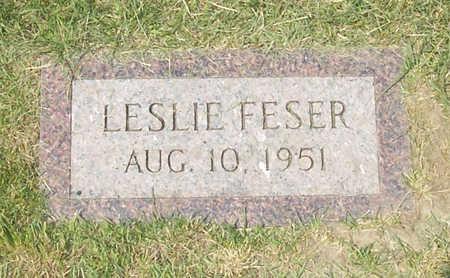 FESER, LESLIE - Shelby County, Iowa | LESLIE FESER